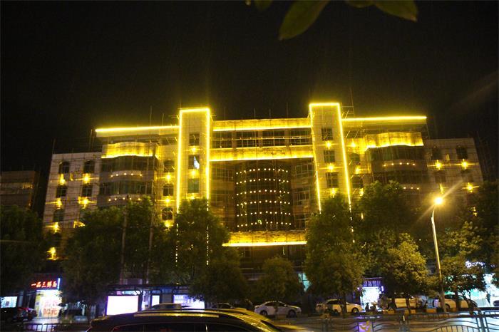 国网电力抢修中心大楼亮化工程